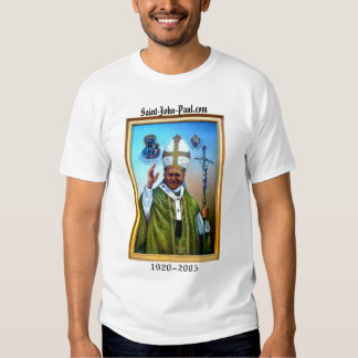 Portrait of the Pope T-shirt