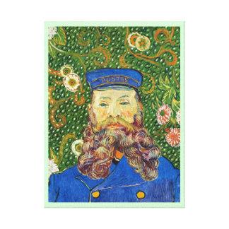 Portrait of the Postman Joseph Rouli Van gogh vinc Canvas Print