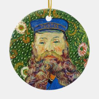 Portrait of the Postman Joseph Rouli Van gogh vinc Ceramic Ornament