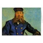Portrait of the Postman Joseph Roulin - Van Gogh Card
