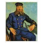 Portrait of the Postman Joseph Roulin - Van Gogh Photo Print