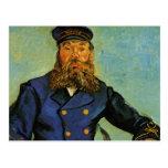 Portrait of the Postman Joseph Roulin - Van Gogh Postcards