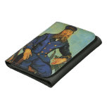 Portrait of the Postman Joseph Roulin - Van Gogh Wallets