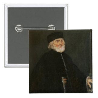 Portrait of the Procurator Nicolo Priuli Pinback Button