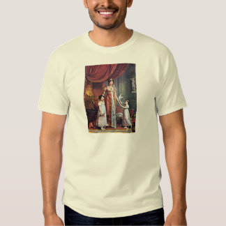 Portrait Of The Queen And Her Daughters Julia Bona Tshirts