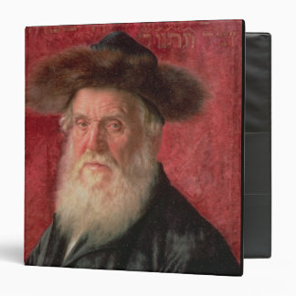 Portrait of the Rabbi of Nadvorno, c.1910 (oil on Binder
