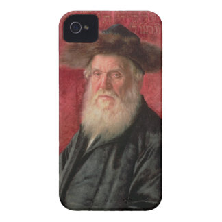 Portrait of the Rabbi of Nadvorno, c.1910 (oil on iPhone 4 Case
