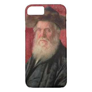 Portrait of the Rabbi of Nadvorno, c.1910 (oil on iPhone 8/7 Case