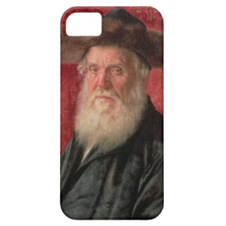 Portrait of the Rabbi of Nadvorno, c.1910 (oil on iPhone SE/5/5s Case