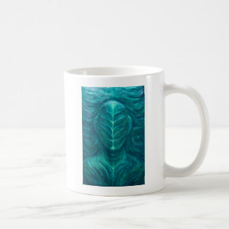 Portrait of the Real Green Man (surrealism) Coffee Mug