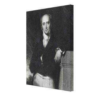 Portrait of the Right Honourable Charles Grey Gallery Wrap Canvas