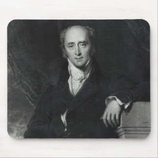 Portrait of the Right Honourable Charles Grey Mousepads