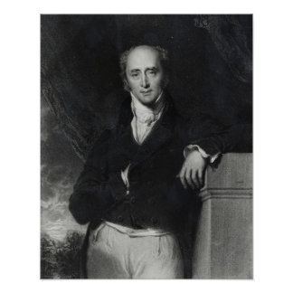 Portrait of the Right Honourable Charles Grey Poster
