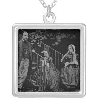 Portrait of the Rossetti Family, 1864 Pendant