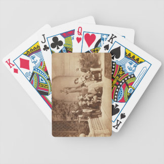 Portrait of the Royal Family at Osborne House, 185 Bicycle Playing Cards