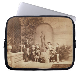 Portrait of the Royal Family at Osborne House, 185 Computer Sleeve