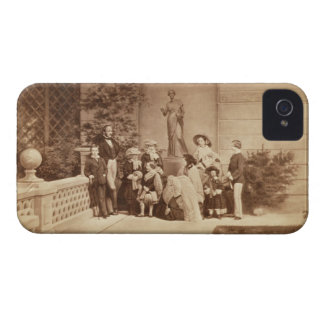 Portrait of the Royal Family at Osborne House, 185 iPhone 4 Cover