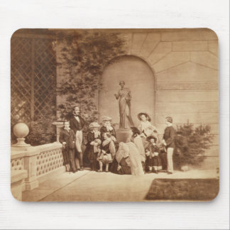 Portrait of the Royal Family at Osborne House, 185 Mouse Pad