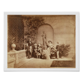 Portrait of the Royal Family at Osborne House, 185 Poster