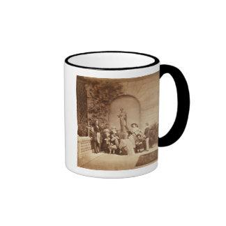 Portrait of the Royal Family at Osborne House, 185 Ringer Mug
