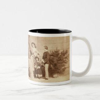 Portrait of the Royal Family at Osborne House, 185 Two-Tone Coffee Mug