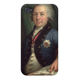 Portrait of the Russian poet Gavril Derzhavin iPhone 4/4S Case