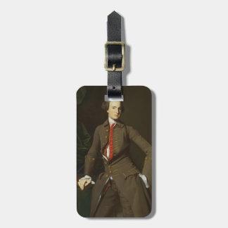 Portrait of the Salem by John Singleton Copley Travel Bag Tag
