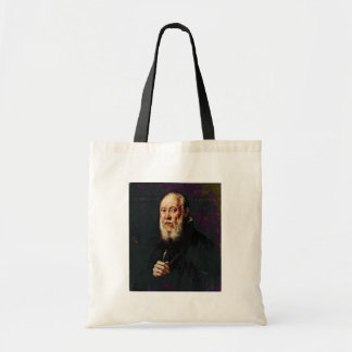 Portrait Of The Sculptor Jacopo Sansovino By Tinto Budget Tote Bag