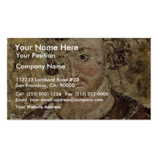 Portrait Of The Serbian King Vladislav By Meister Double-Sided Standard Business Cards (Pack Of 100)