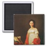 Portrait of the singer Anna Borunova, 1821 Fridge Magnet
