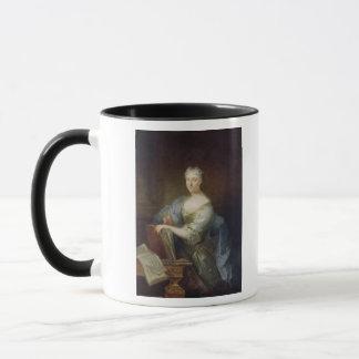 Portrait of the singer Marie-Louise Desmatins Mug