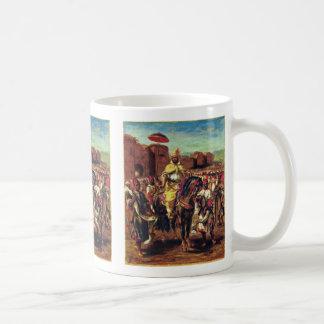 Portrait Of The Sultan Of Morocco Classic White Coffee Mug