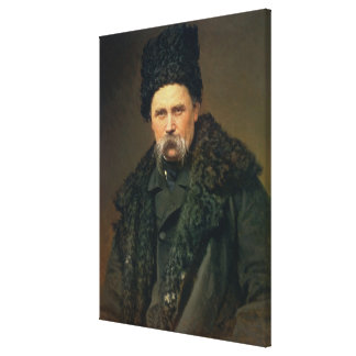 Portrait of the Ukranian Author Gallery Wrapped Canvas