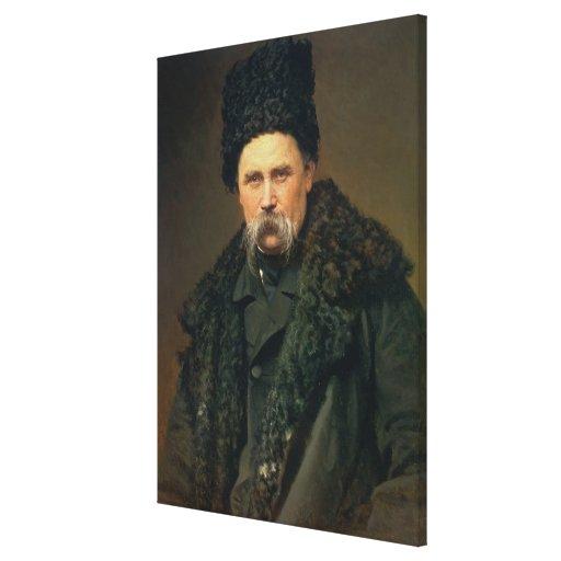 Portrait of the Ukranian Author Canvas Print
