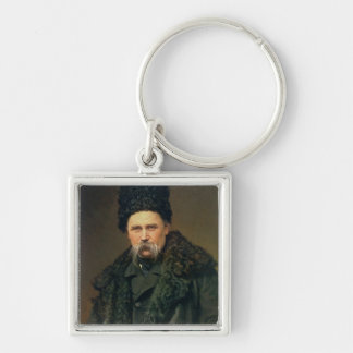 Portrait of the Ukranian Author Keychain