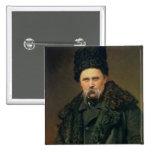 Portrait of the Ukranian Author Pinback Button