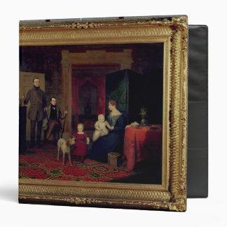 Portrait of the Van Cortland Family, c.1830 3 Ring Binder