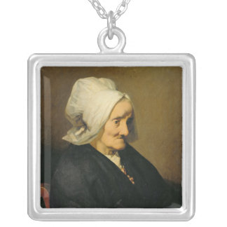 Portrait of the Widow Roumy Silver Plated Necklace