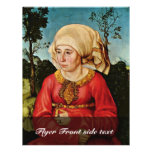 Portrait Of The Wife Of Dr. John Stephan Reuss By Flyer