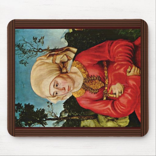 Portrait Of The Wife Of Dr. John Stephan Reuss By Mousepads