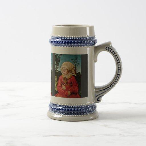 Portrait Of The Wife Of Dr. John Stephan Reuss By Coffee Mugs