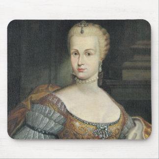 Portrait of the Wife of Pietro Leopoldo di Lorena, Mouse Pad