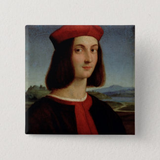 Portrait of the Young Pietro Bembo, 1504-6 Button