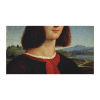 Portrait of the Young Pietro Bembo, 1504-6 Canvas Print