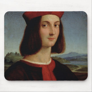 Portrait of the Young Pietro Bembo, 1504-6 Mouse Pad