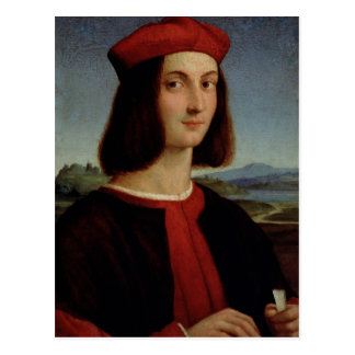 Portrait of the Young Pietro Bembo, 1504-6 Postcard