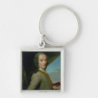 Portrait of the Young Voltaire Keychain