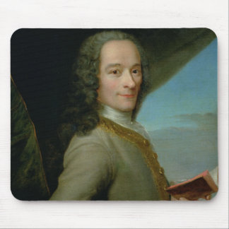 Portrait of the Young Voltaire Mouse Pad