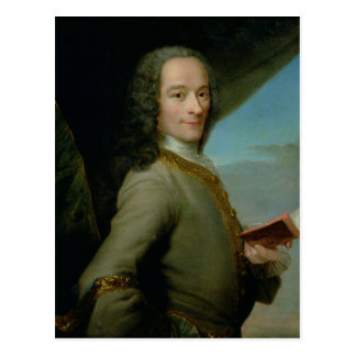 Portrait of the Young Voltaire Postcard