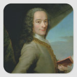 Portrait of the Young Voltaire Stickers